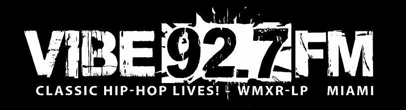 Vibe 92.7 FM | Miami, FL Logo