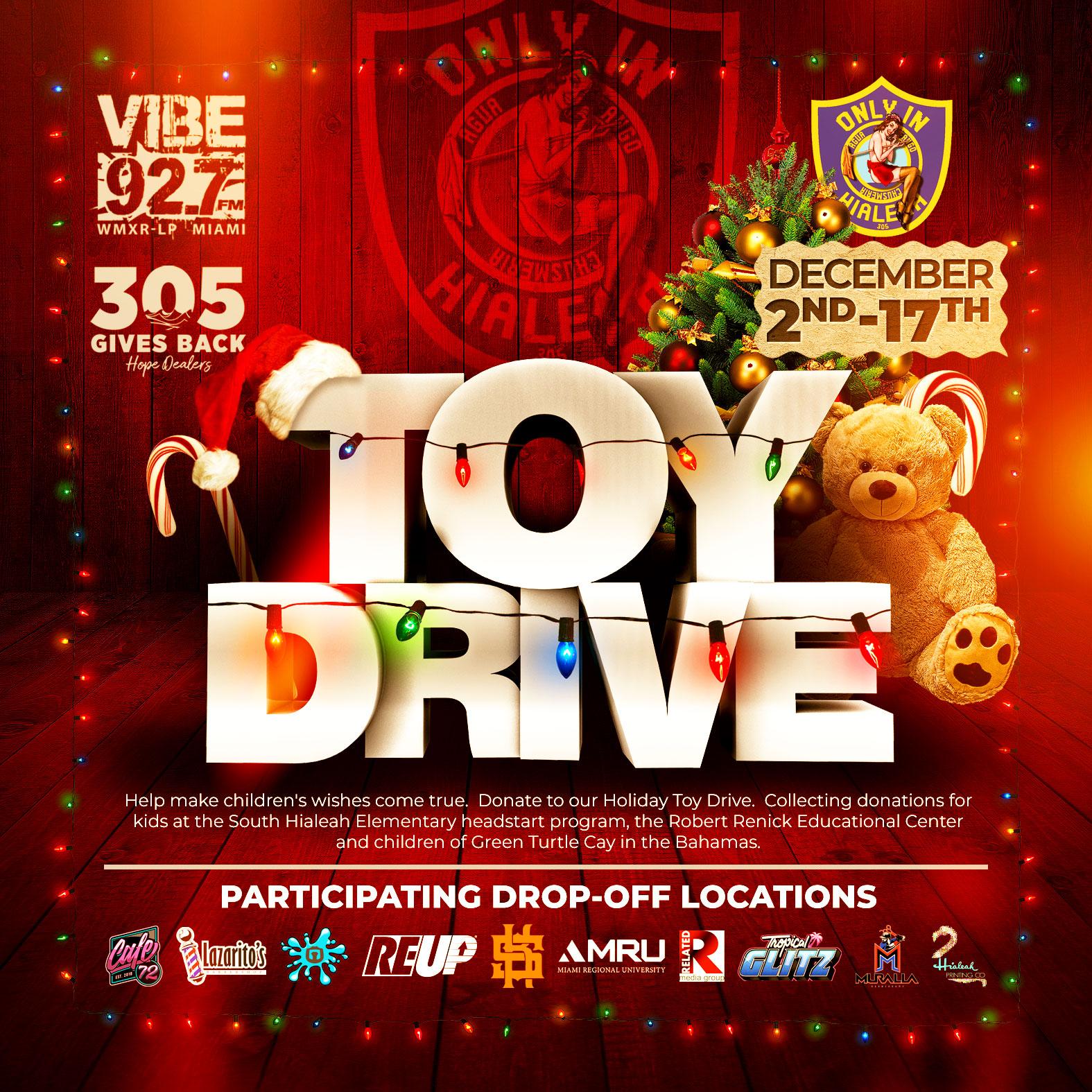 Toy Drive Miami 1